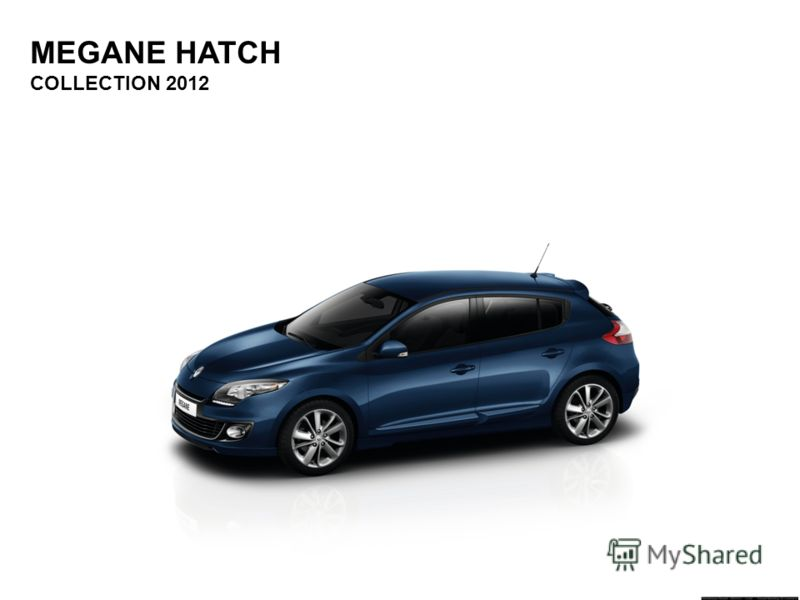 MEGANE HATCH COLLECTION 2012