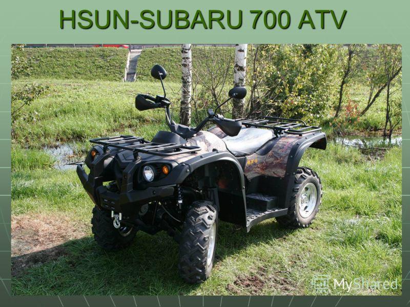 HSUN-SUBARU 700 ATV