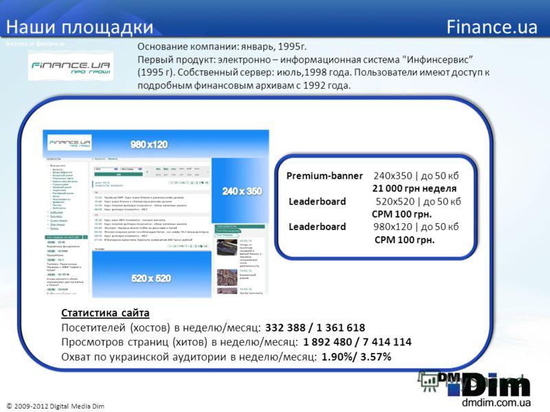 Основание компании: январь, 1995г. Первый продукт: электронно – информационная система
