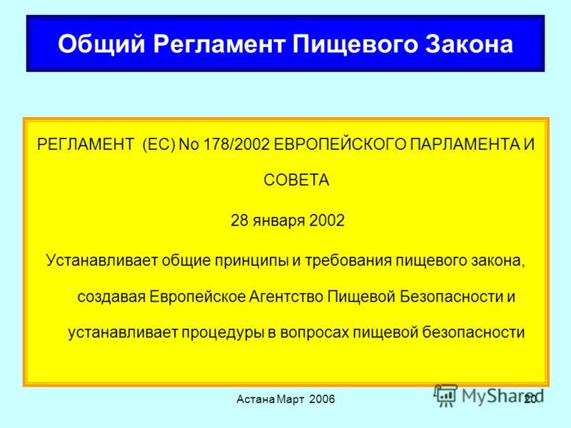 Астана Март 200619