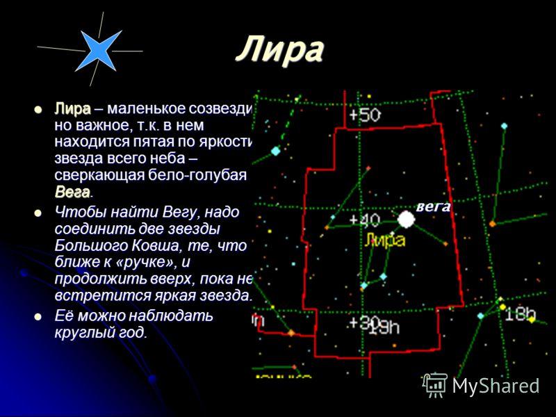 Созвездие Кассиопеи расположено в приполярной области неба и потому в наших широтах никогда не заходит за горизонт. Особенно красива Кассиопея осенью, когда оно высоко поднимается по вечерам. Созвездие Цефея состоит из весьма неярких звезд, главные и