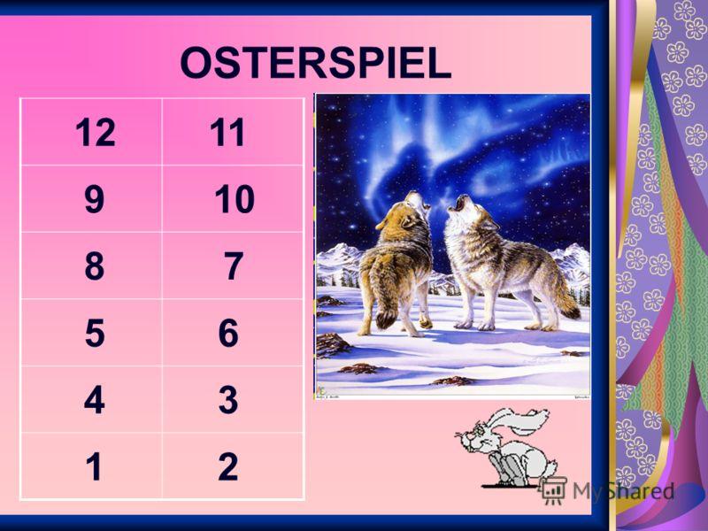 OSTERSPIEL 1211 109 87 56 34 21