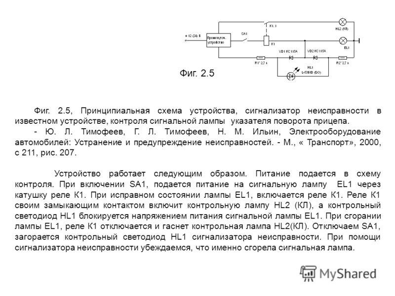 Фиг. 2.5, Принципиальная схема