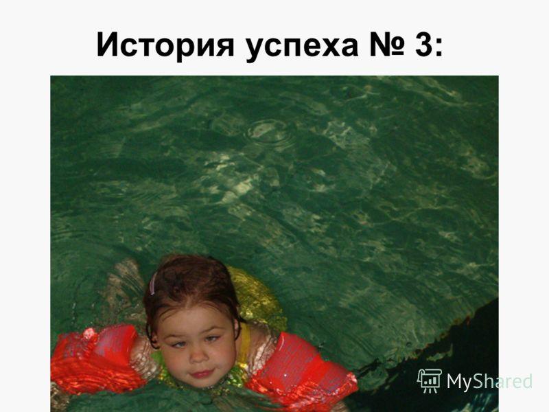 История успеха 3: