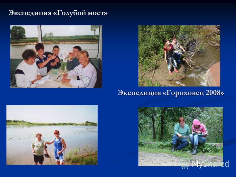 Экспедиция «Голубой мост» Экспедиция «Гороховец 2008»