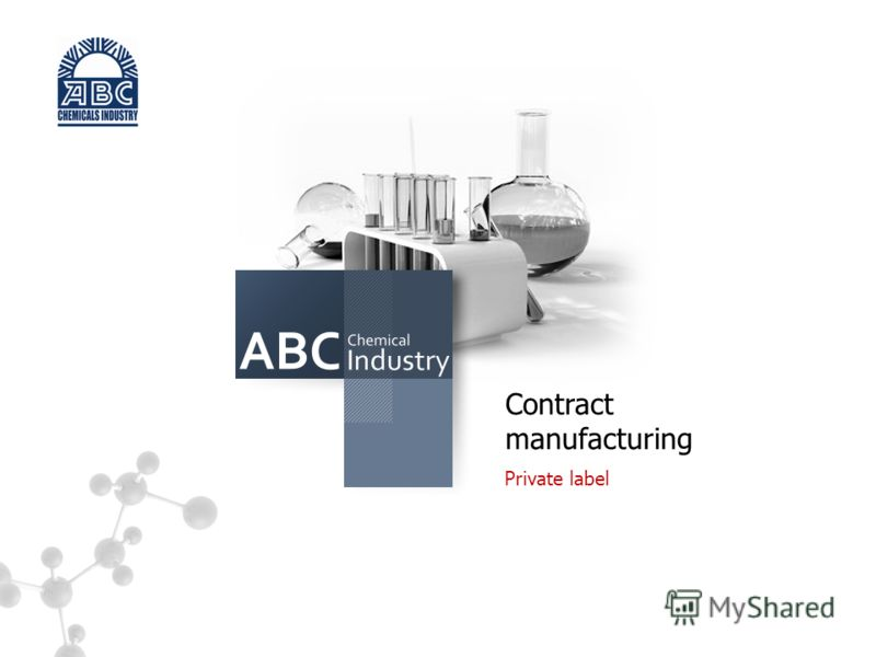s Contract manufacturing Private label