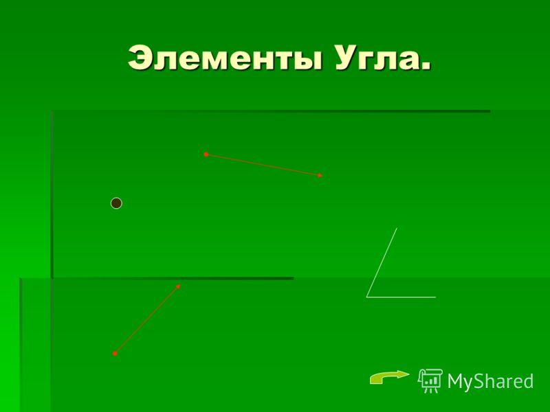 Элементы Угла.