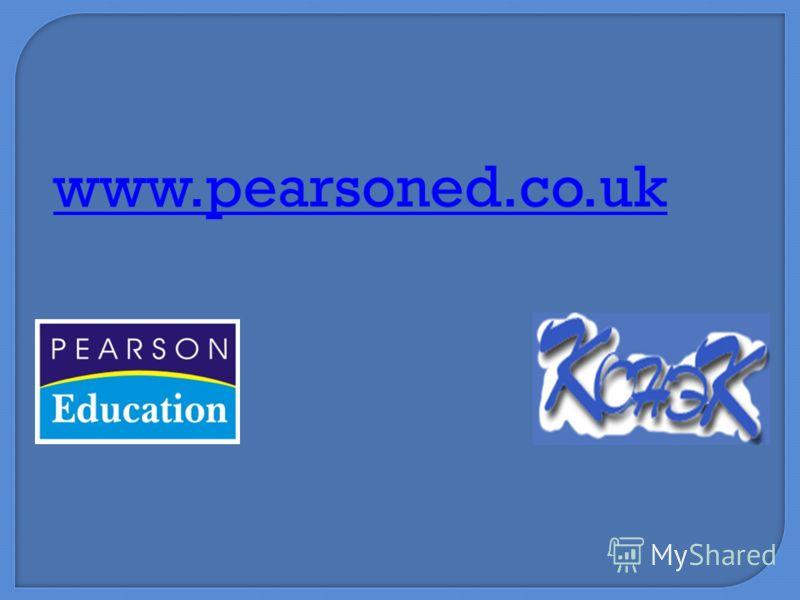 www.pearsoned.co.uk