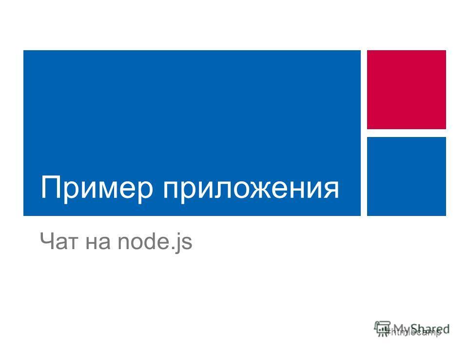 #html5camp Пример приложения Чат на node.js
