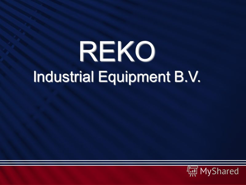 REKO Industrial Equipment B.V.