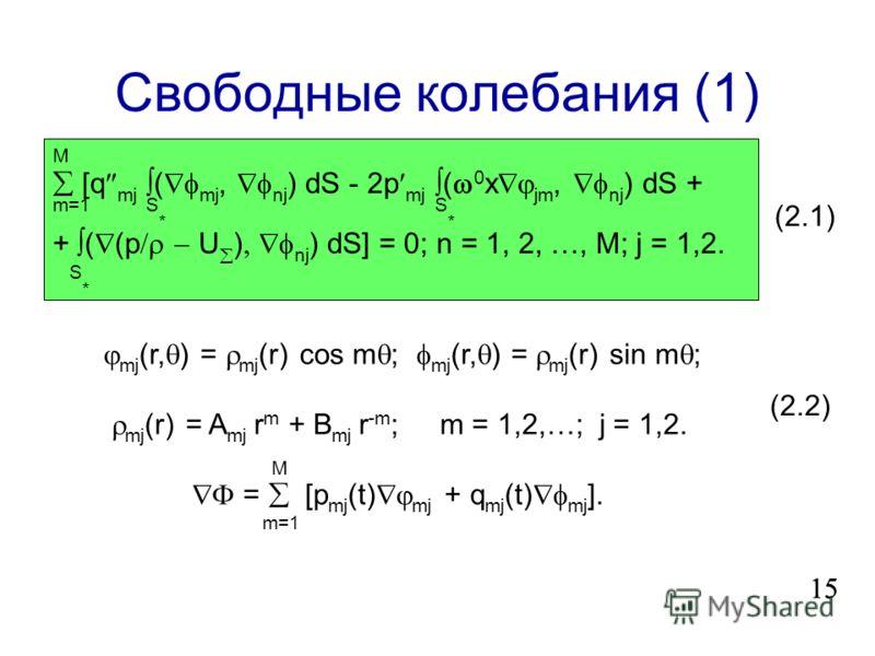 II. Магнито-гравитационные волны 14