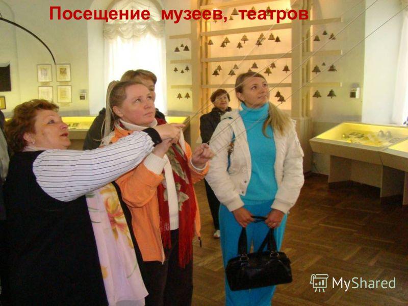 Посещение музеев, театров