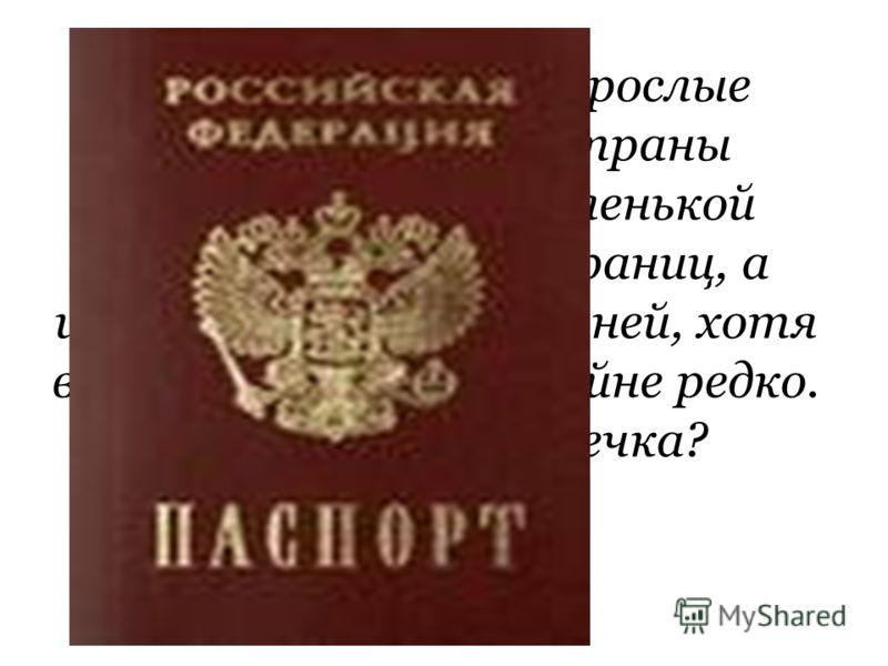 Практически все взрослые граждане нашей страны обладают этой маленькой книжечкой из 40 страниц, а иногда и вкладышем к ней, хотя в руках держат ее крайне редко. Что это за книжечка?