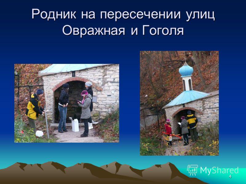 4 Родник на пересечении улиц Овражная и Гоголя
