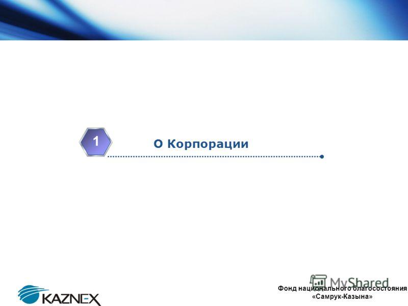 www.themegallery.com Company Logo О Корпорации 1 4 Фонд национального благосостояния «Самрук-Казына»