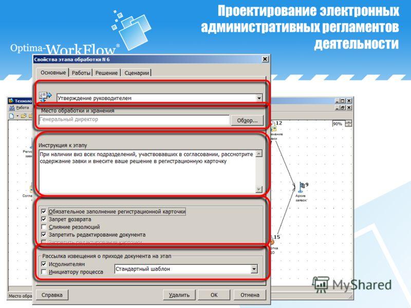 Проектирование электронных административных регламентов деятельности