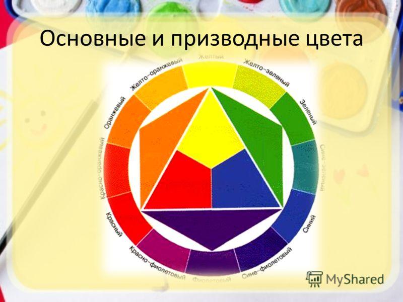 Основные и призводные цвета