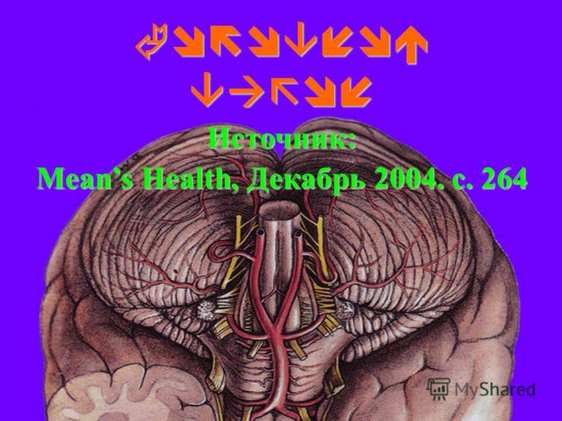 Головной вагон Источник: Means Health, Декабрь 2004. с. 264