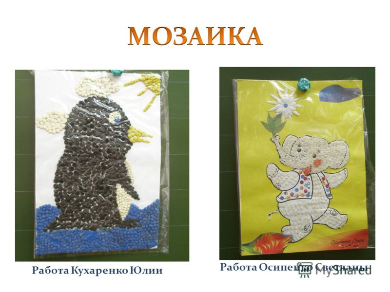 Работа Осипенко Светланы Работа Кухаренко Юлии