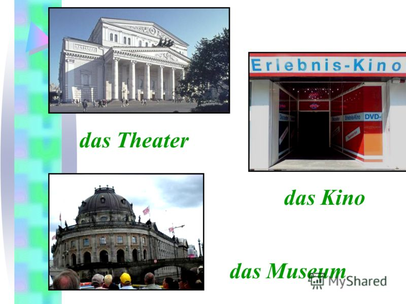 das Museum das Theater das Kino