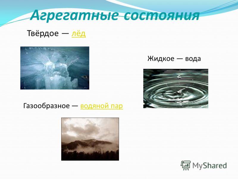 Наши исследования В атмосфере нашей планеты вода находится в виде капель малого размера, в облаках и тумане, а так же в виде пара. При конденсации выводится из атмосферы в виде атмосферных осадков (дождь, снег, град, роса).