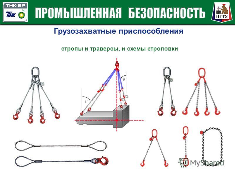 Грузозахватные приспособления стропы и траверсы, и схемы строповки