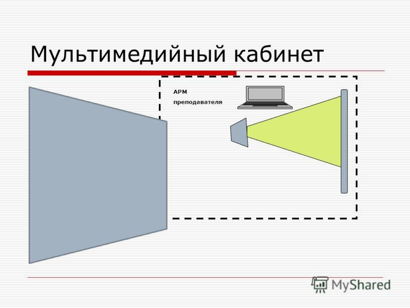 Мультимедийный кабинет АРМ преподавателя