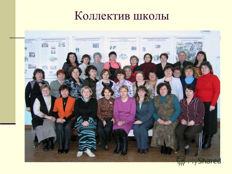 Коллектив школы