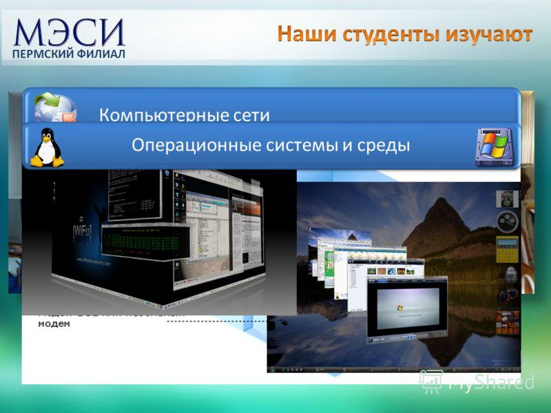Компьютерные сети Операционные системы и среды ПЕРМСКИЙ ФИЛИАЛ
