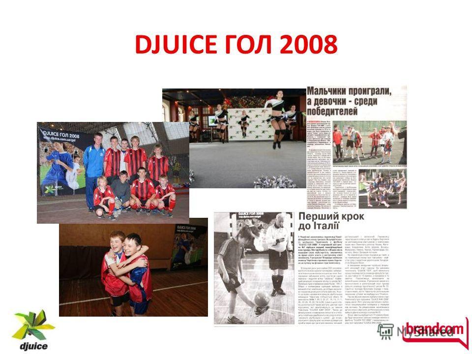 DJUICE ГОЛ 2008