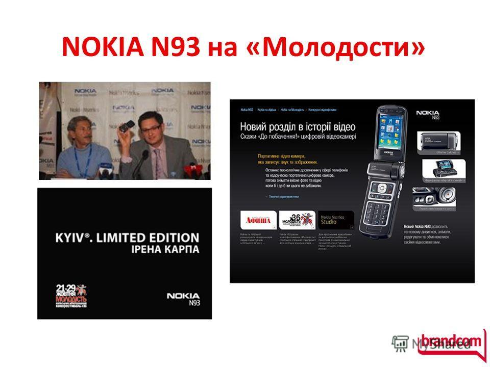 NOKIA N93 на «Молодости»