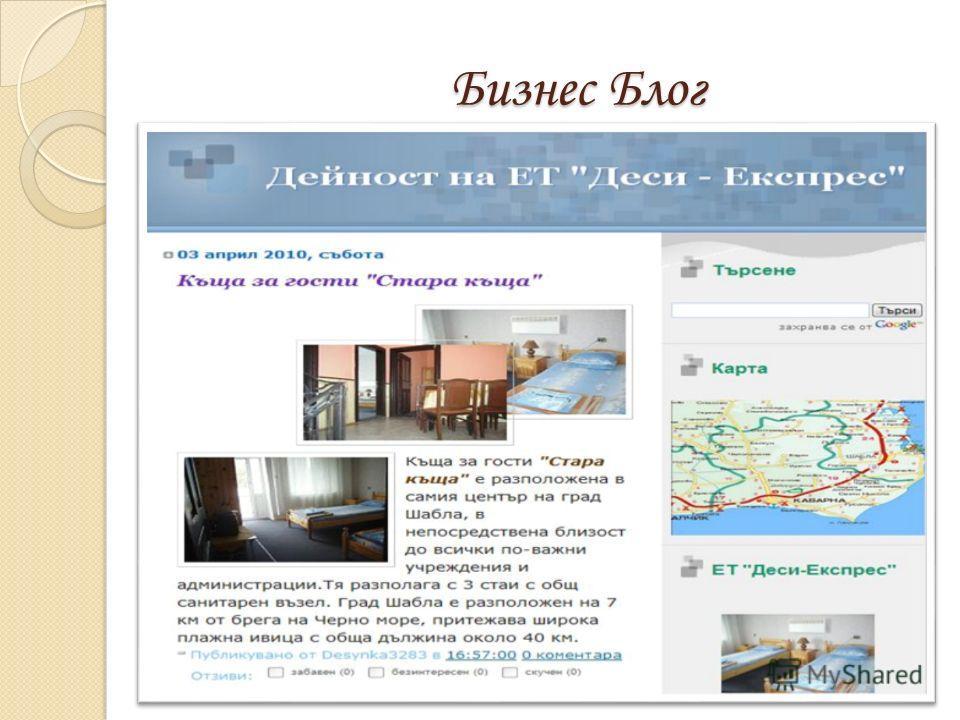 Бизнес Блог Бизнес Блог