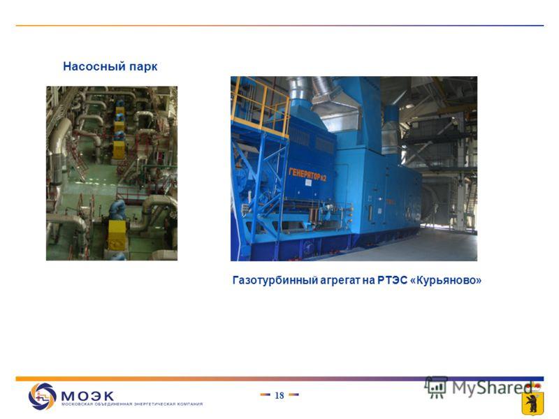 17 снижение удельных расходов топлива на выработку тепловой и электрической энергии при комбинированной выработке снижение потерь электроэнергии при ее передаче РТЭС «Курьяново», установленной электрической мощностью 12 МВт РТЭС «Пенягино», установле