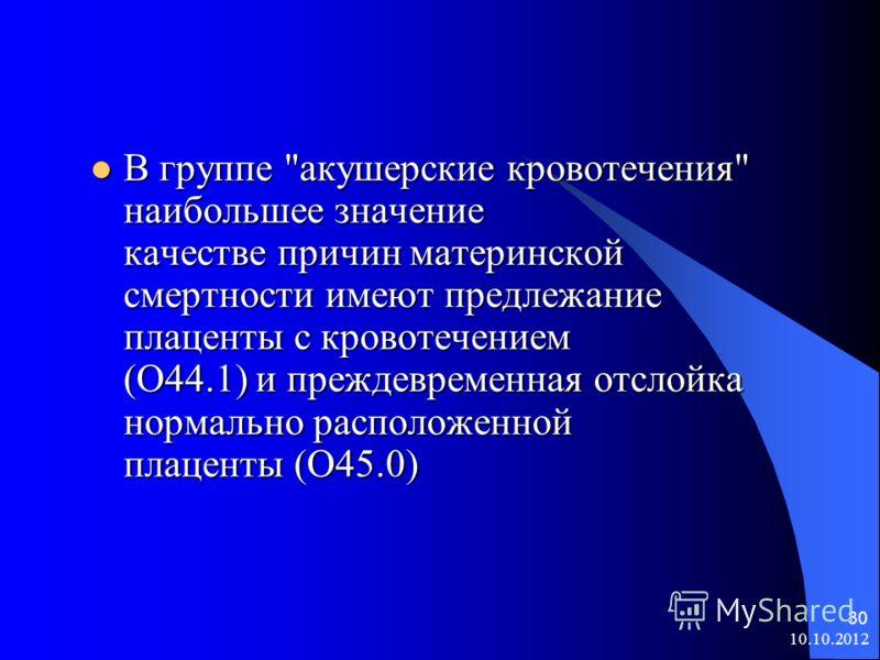 10.10.2012 30 В группе