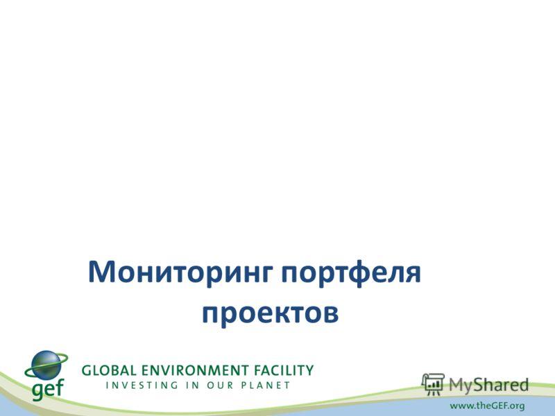 Мониторинг портфеля проектов