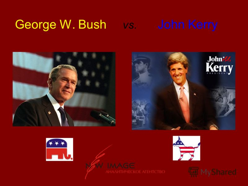 George W. Bush vs. John Kerry