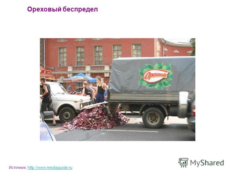 Ореховый беспредел Источник: http://www.mediaguide.ruhttp://www.mediaguide.ru