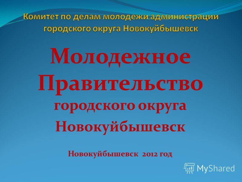 Молодежное Правительство городского округа Новокуйбышевск Новокуйбышевск 2012 год