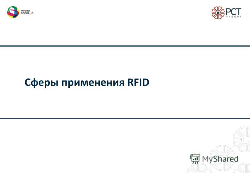 Сферы применения RFID