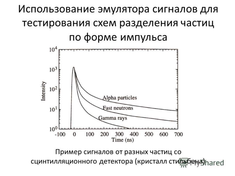 схем разделения частиц по