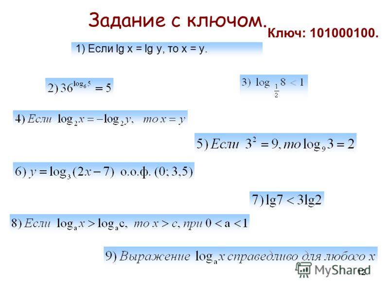 11 При каких значениях х имеет смысл функция: Устные упражнения Совпадают ли графики функций: Решить уравнение: