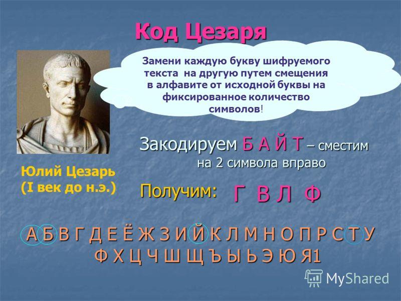 Примеры кодирования «Здравствуй, Саша!» Русский текст –латинскими буквами «Zdravstvuy, Sasha!» Семафор (положение) Наскальный рисунок – БИЗОН Иероглиф «Торговец рыбой» (Китай)