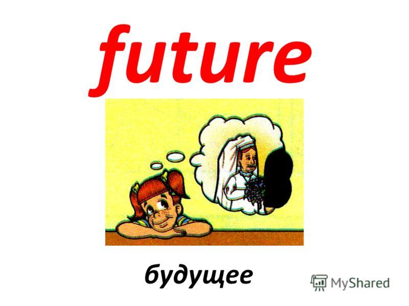 future будущее