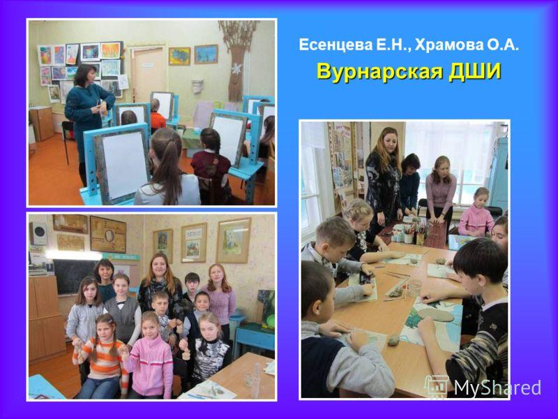 Вурнарская ДШИ Есенцева Е.Н., Храмова О.А. Вурнарская ДШИ