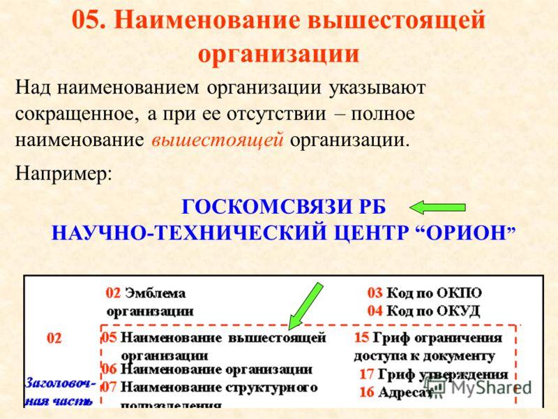 04. Код документа Определяется по Общегосударственному классификатору Республики Беларусь « Унифицированные документы» (ОКУД).