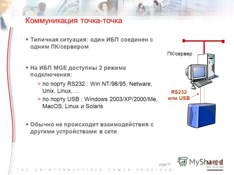 www.mgeups.com Решения MGE для управления питанием wЛокальный мониторинг: Personal Solution-Pac