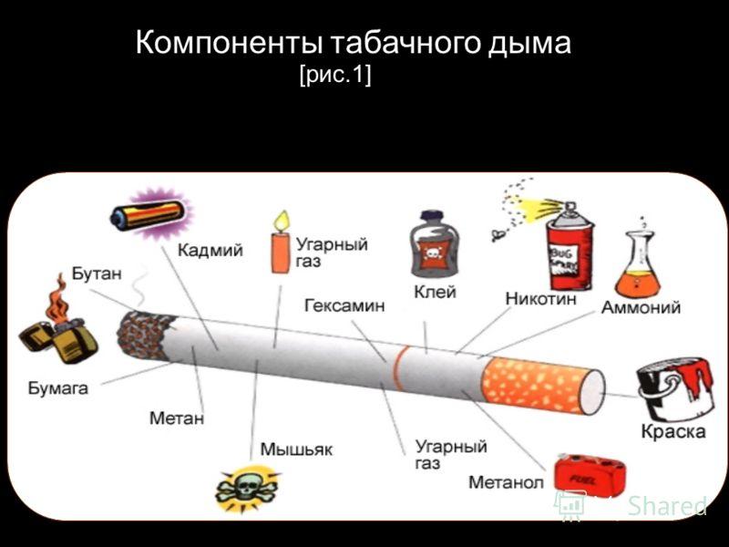 Компоненты табачного дыма [рис.1]