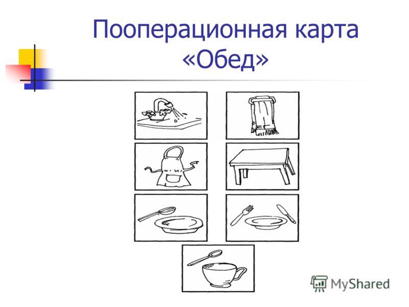 Пооперационная карта «Обед»