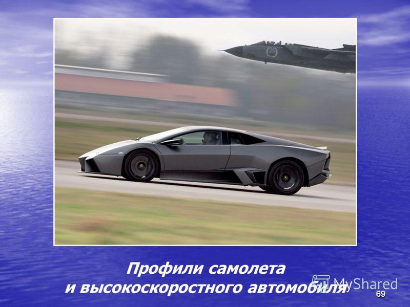 6969 Профили самолета и высокоскоростного автомобиля