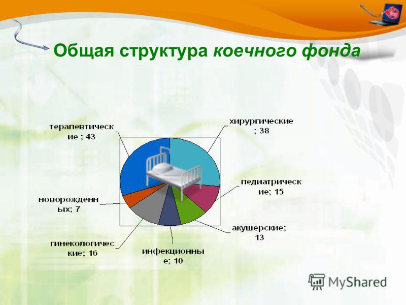 Общая структура коечного фонда